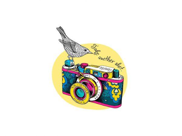 Vinilo Frases Take Another Shot | Carteles XXL - Impresión carteleria publicitaria