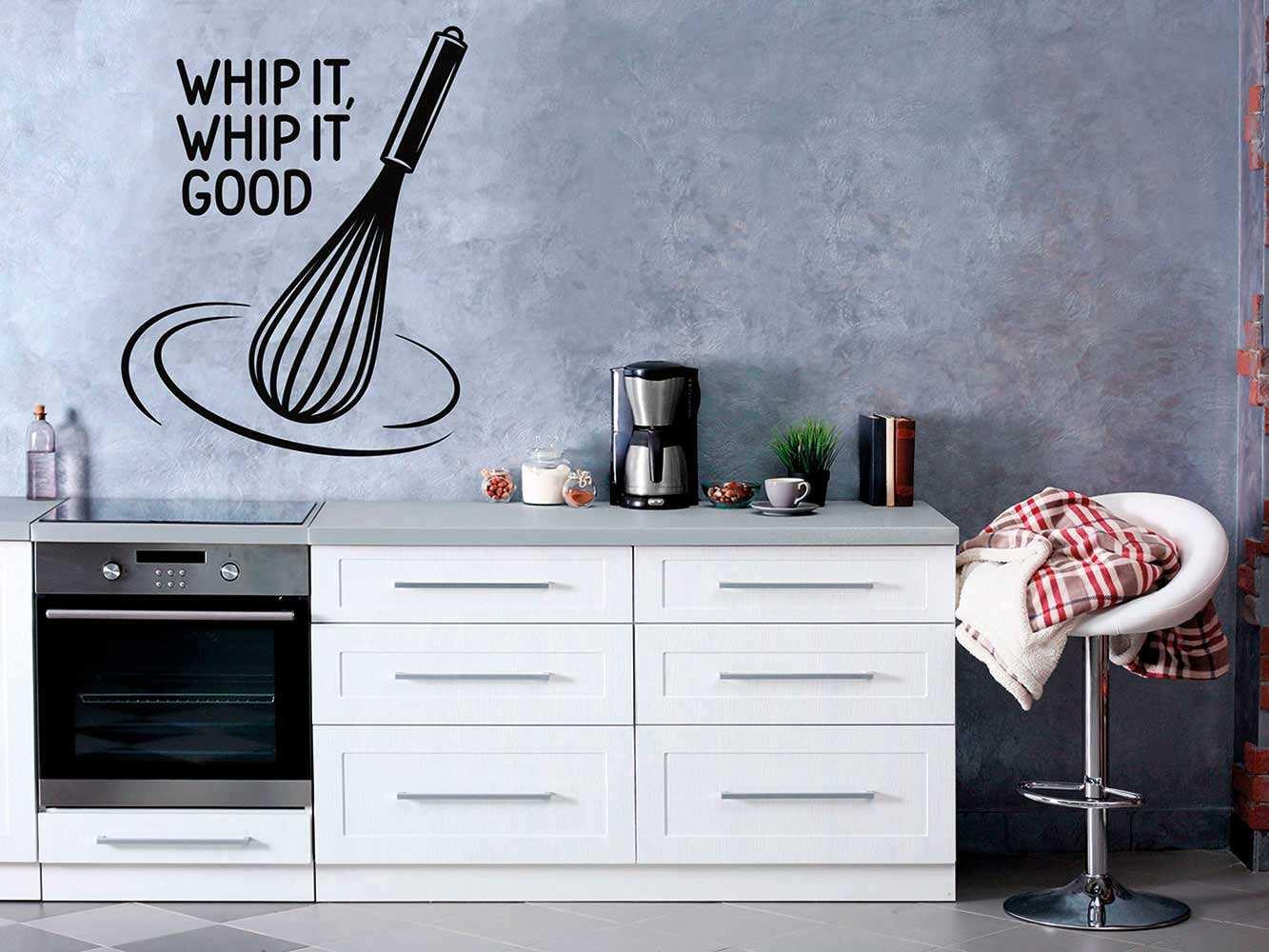 Vinilo Frases Whip it good | Carteles XXL - Impresión carteleria publicitaria