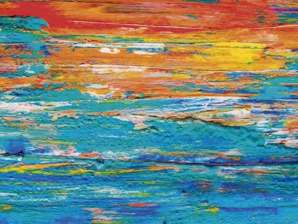 Vinilo Frigorífico Acuarela Multicolor | Carteles XXL - Impresión carteleria publicitaria