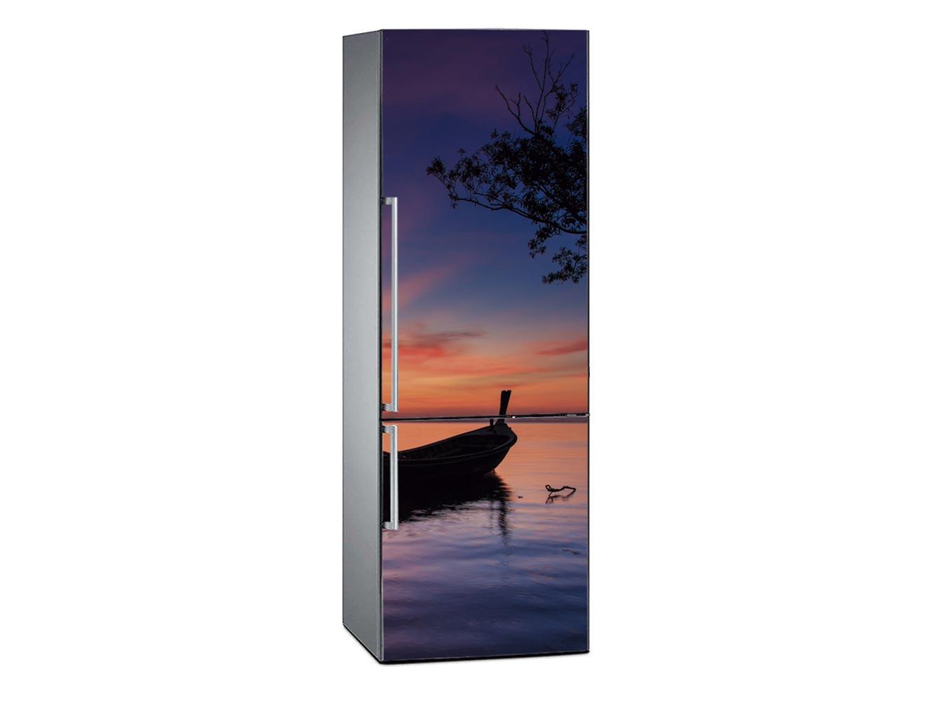 Vinilo Frigorífico Amanecer en Playa de Tailandia | Carteles XXL - Impresión carteleria publicitaria