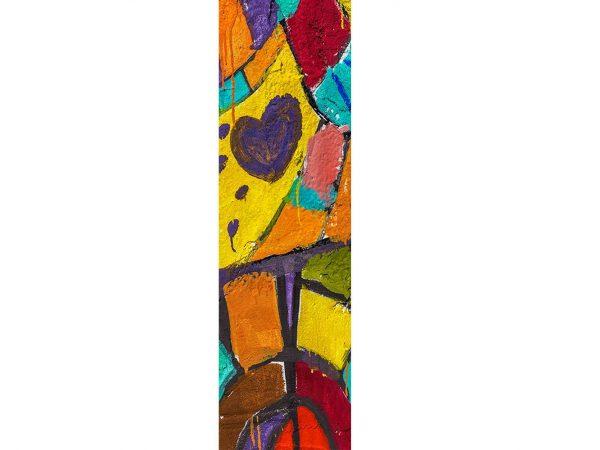 Vinilo Frigorífico Arte Pintura Corazón | Carteles XXL - Impresión carteleria publicitaria