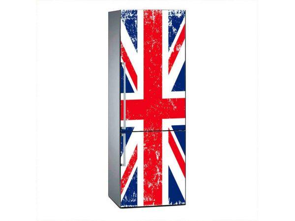Vinilo Frigorífico Bandera Reino Unido | Carteles XXL - Impresión carteleria publicitaria