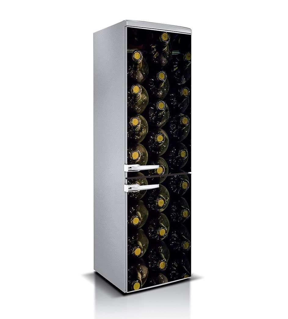 Vinilo Frigorífico Botellas | Carteles XXL - Impresión carteleria publicitaria