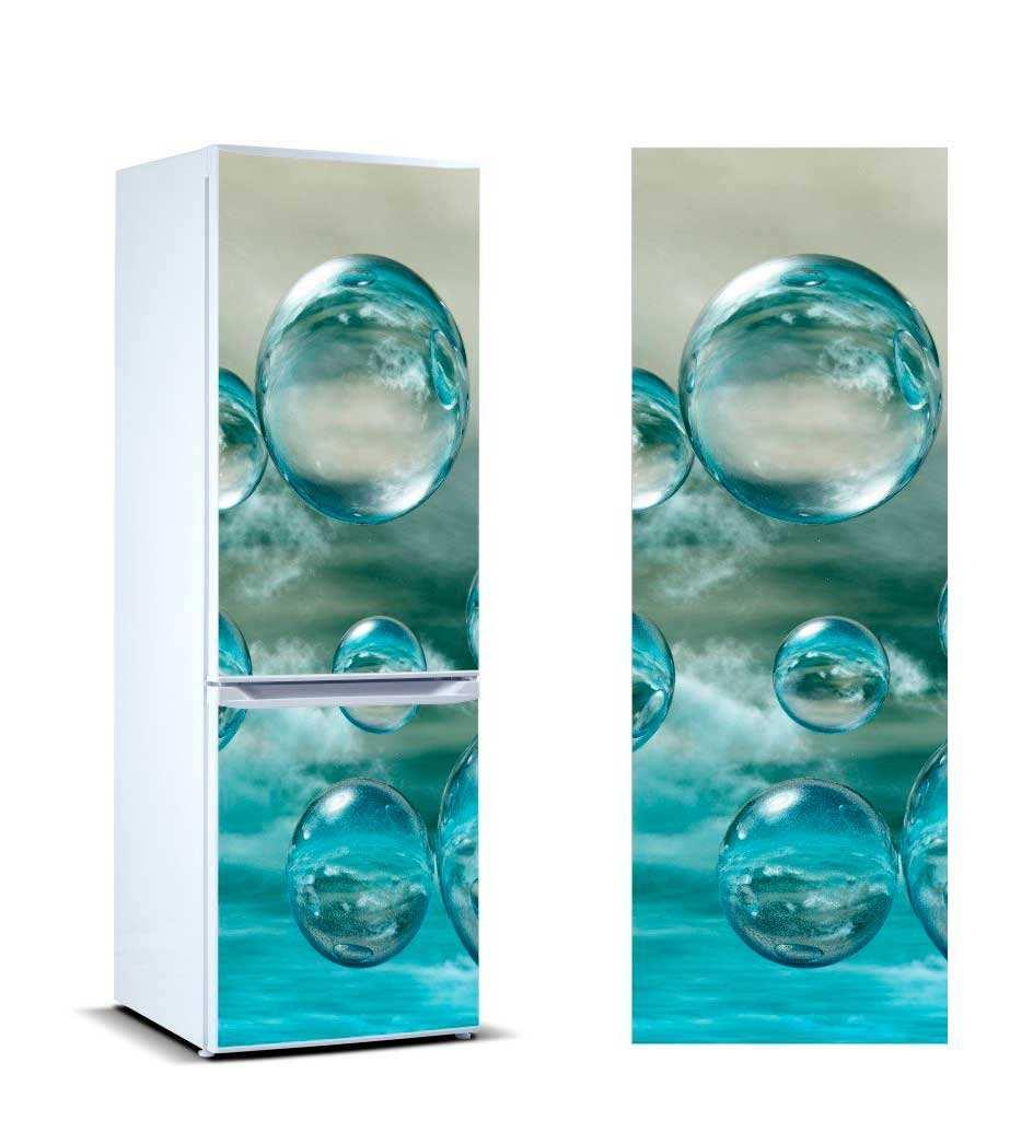 Vinilo Frigorífico Burbujas Agua | Carteles XXL - Impresión carteleria publicitaria
