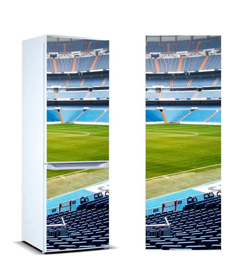 Vinilo Frigorífico Campo de Fútbol | Carteles XXL - Impresión carteleria publicitaria