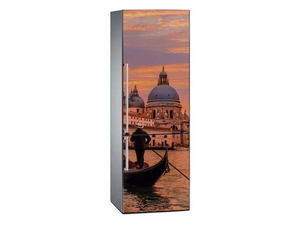Vinilo Frigorífico Canal de Venecia al Atardecer | Carteles XXL - Impresión carteleria publicitaria