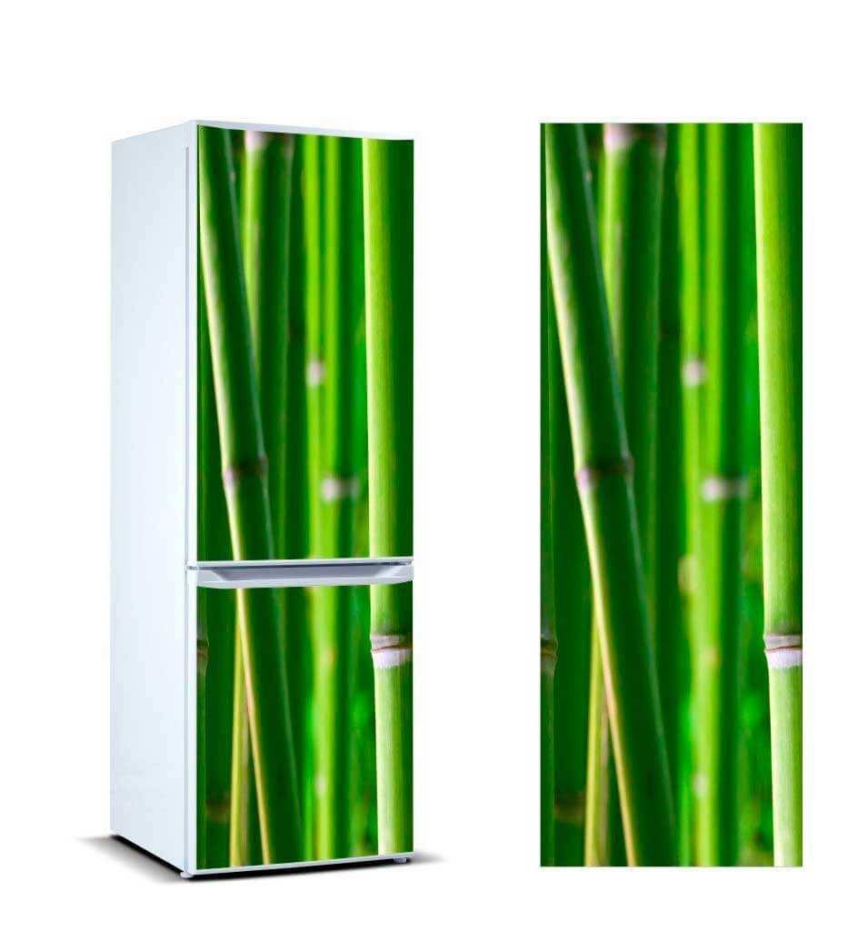 Vinilo Frigorífico Cañas Bambú | Carteles XXL - Impresión carteleria publicitaria