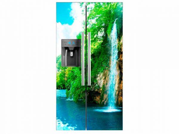 Vinilo Frigorífico Cascada Natural | Carteles XXL - Impresión carteleria publicitaria