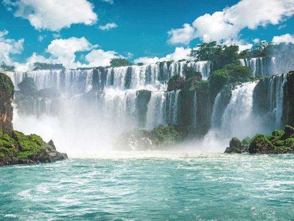 Vinilo Frigorífico Cataratas Iguazú | Carteles XXL - Impresión carteleria publicitaria