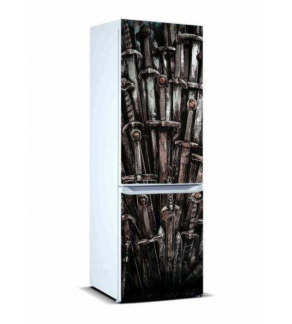 Vinilo Frigorífico Espadas Antiguas | Carteles XXL - Impresión carteleria publicitaria