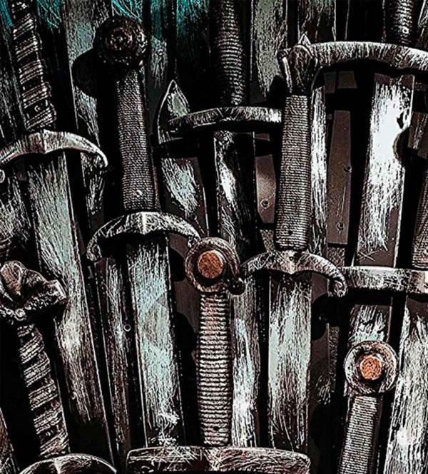 Vinilo Frigorífico Espadas Antiguas   Carteles XXL - Impresión carteleria publicitaria