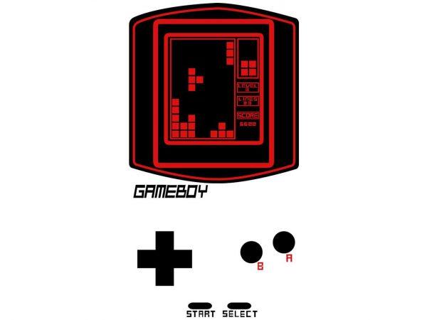 Vinilo Frigorífico Consola Tetris | Carteles XXL - Impresión carteleria publicitaria