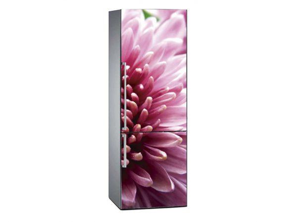 Vinilo Frigorífico Crisantemo Rosa | Carteles XXL - Impresión carteleria publicitaria