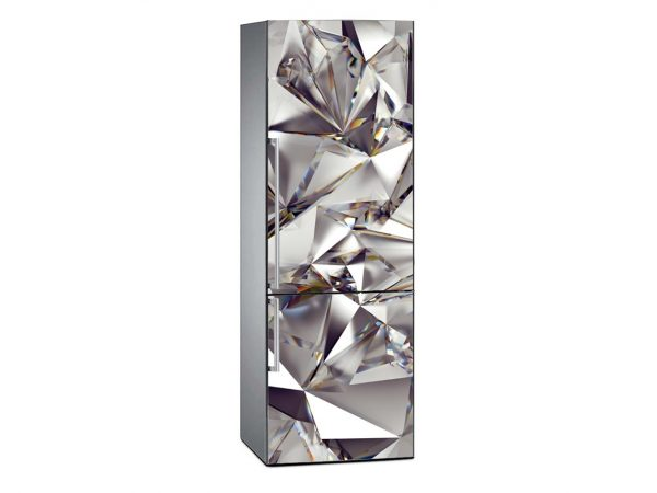 Vinilo Frigorífico Diamantes Brillantes | Carteles XXL - Impresión carteleria publicitaria