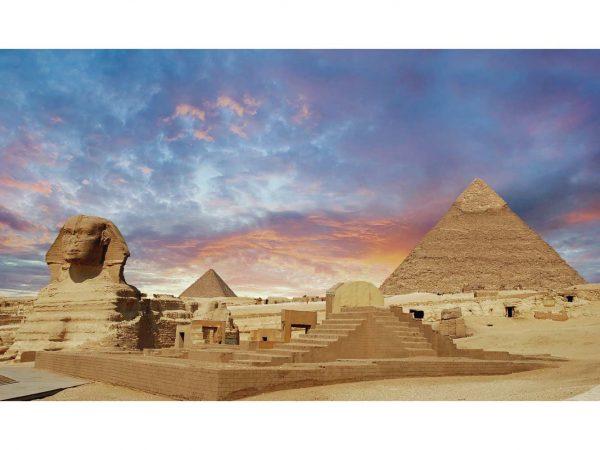 Vinilo Frigorífico Egipto Atardecer 2 | Carteles XXL - Impresión carteleria publicitaria