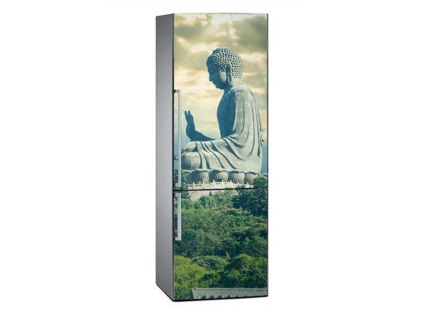 Vinilo Frigorífico Estatua Buda Hong Kong | Carteles XXL - Impresión carteleria publicitaria