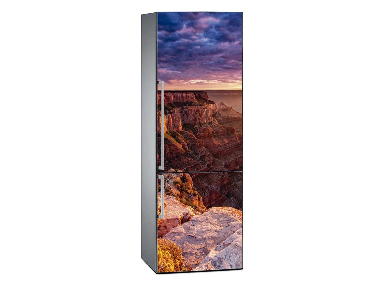 Vinilo Frigorífico Gran Cañón Atardecer | Carteles XXL - Impresión carteleria publicitaria