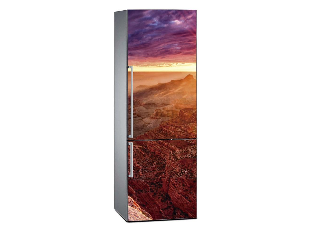 Vinilo Frigorífico Gran Cañón Atardecer 2 | Carteles XXL - Impresión carteleria publicitaria