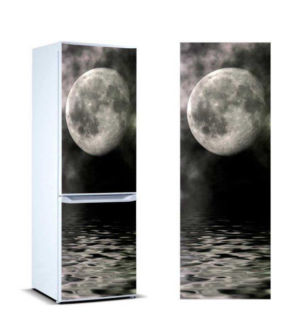 Vinilo Frigorífico Luna Llena | Carteles XXL - Impresión carteleria publicitaria