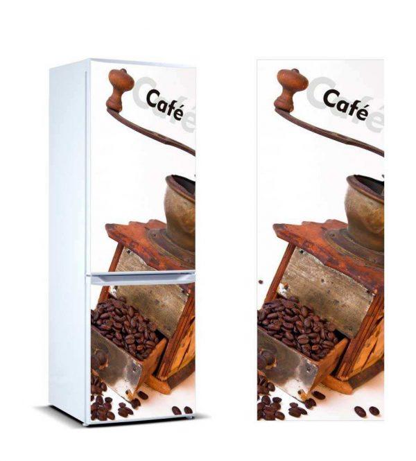 Vinilo Frigorífico Molinillo Café | Carteles XXL - Impresión carteleria publicitaria