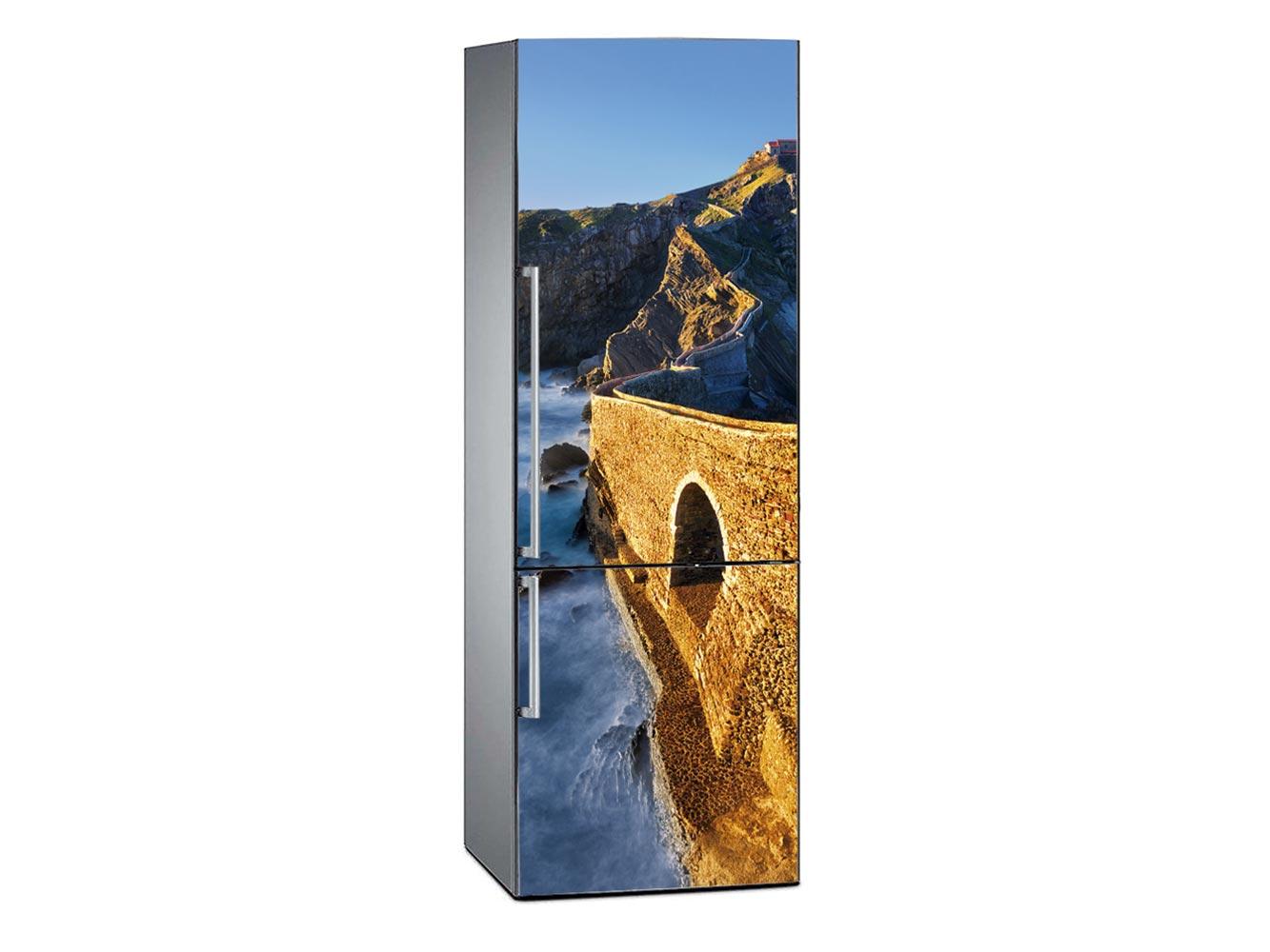 Vinilo Frigorífico Muralla Costera | Carteles XXL - Impresión carteleria publicitaria