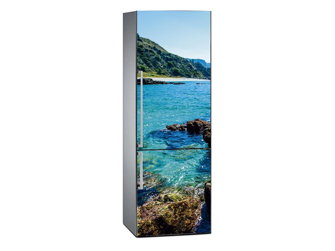 Vinilo Frigorífico Paisajes Cala de Maro | Carteles XXL - Impresión carteleria publicitaria