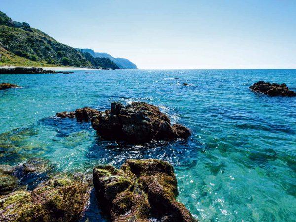 Vinilo Frigorífico Paisajes Cala de Maro 2 | Carteles XXL - Impresión carteleria publicitaria