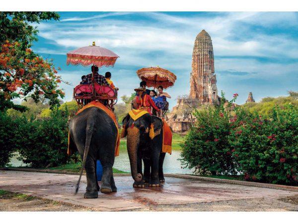 Vinilo Frigorífico Parque Ayutthaya Tailandia 2 | Carteles XXL - Impresión carteleria publicitaria