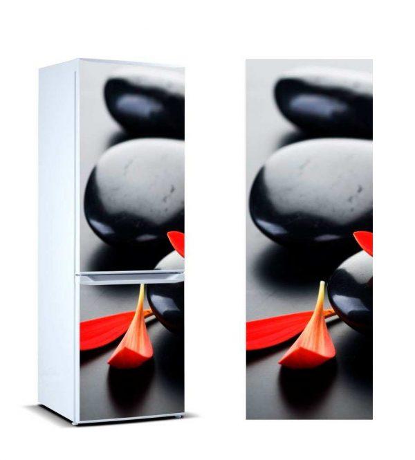 Vinilo Frigorífico Piedras Negras | Carteles XXL - Impresión carteleria publicitaria