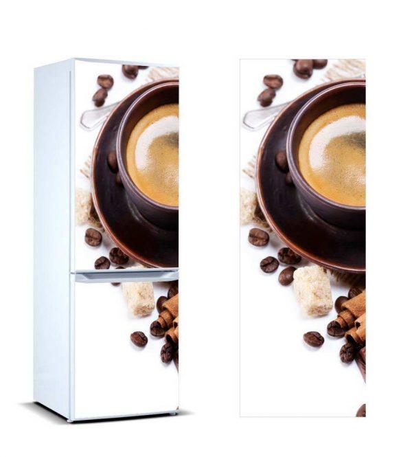 Vinilo Frigorífico Taza Café 2 | Carteles XXL - Impresión carteleria publicitaria