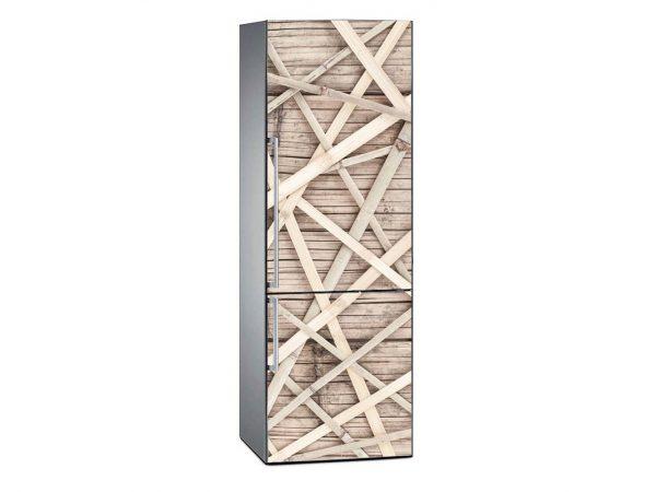 Vinilo Frigorífico Textura Bambú | Carteles XXL - Impresión carteleria publicitaria