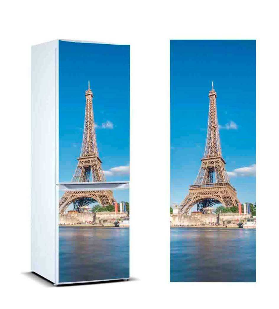 Vinilo Frigorífico Torre Eiffel 2 | Carteles XXL - Impresión carteleria publicitaria