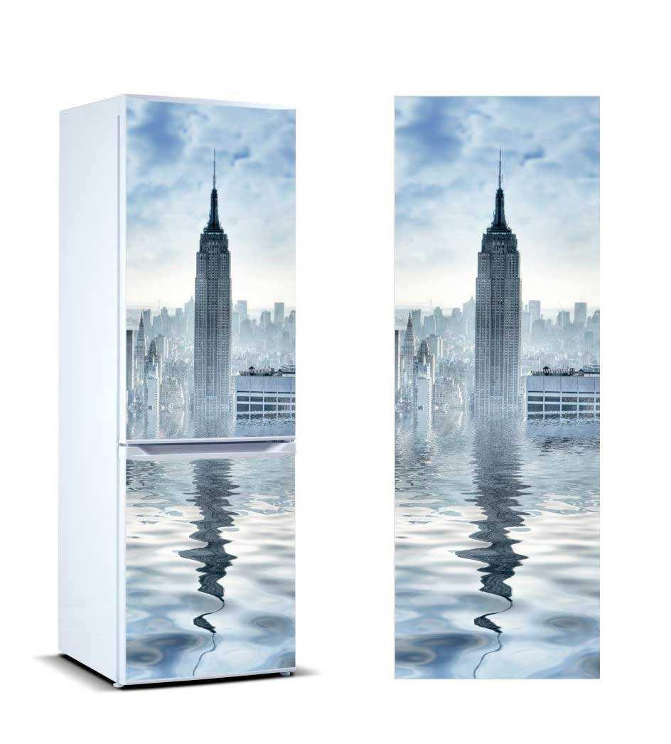 Vinilo Frigorífico Torre Nueva York | Carteles XXL - Impresión carteleria publicitaria
