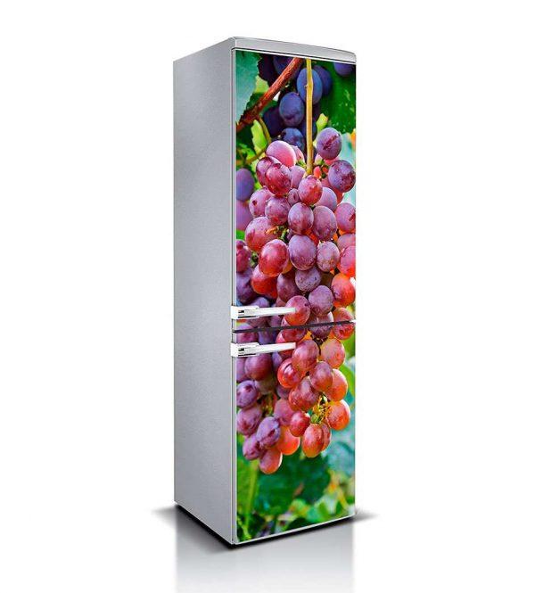 Vinilo Frigorífico Racimo de Uvas | Carteles XXL - Impresión carteleria publicitaria