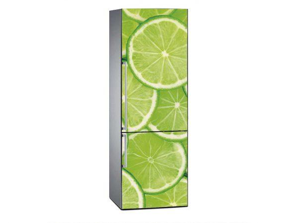 Vinilo Frigorífico Verde Lima | Carteles XXL - Impresión carteleria publicitaria