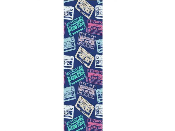 Vinilo Frigorífico Vintage Cassettes Colores | Carteles XXL - Impresión carteleria publicitaria
