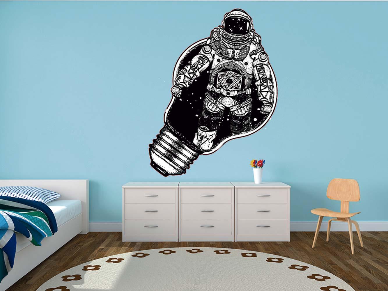 Vinilo Infantil Astronauta Universo | Carteles XXL - Impresión carteleria publicitaria