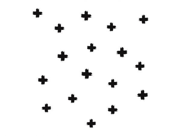 Vinilo Infantil Cruces Negras | Carteles XXL - Impresión carteleria publicitaria