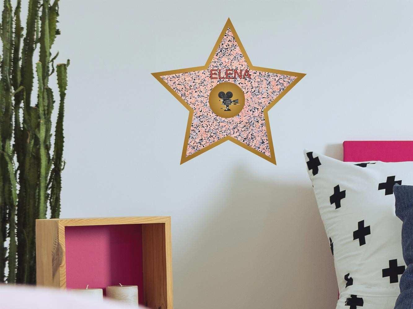 Vinilo Infantil Estrella Cine Personalizado | Carteles XXL - Impresión carteleria publicitaria