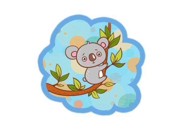 Vinilo Infantil Koala Liana | Carteles XXL - Impresión carteleria publicitaria