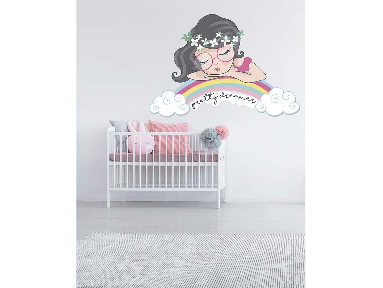 Vinilo Infantil Pequeña Soñadora   Carteles XXL - Impresión carteleria publicitaria