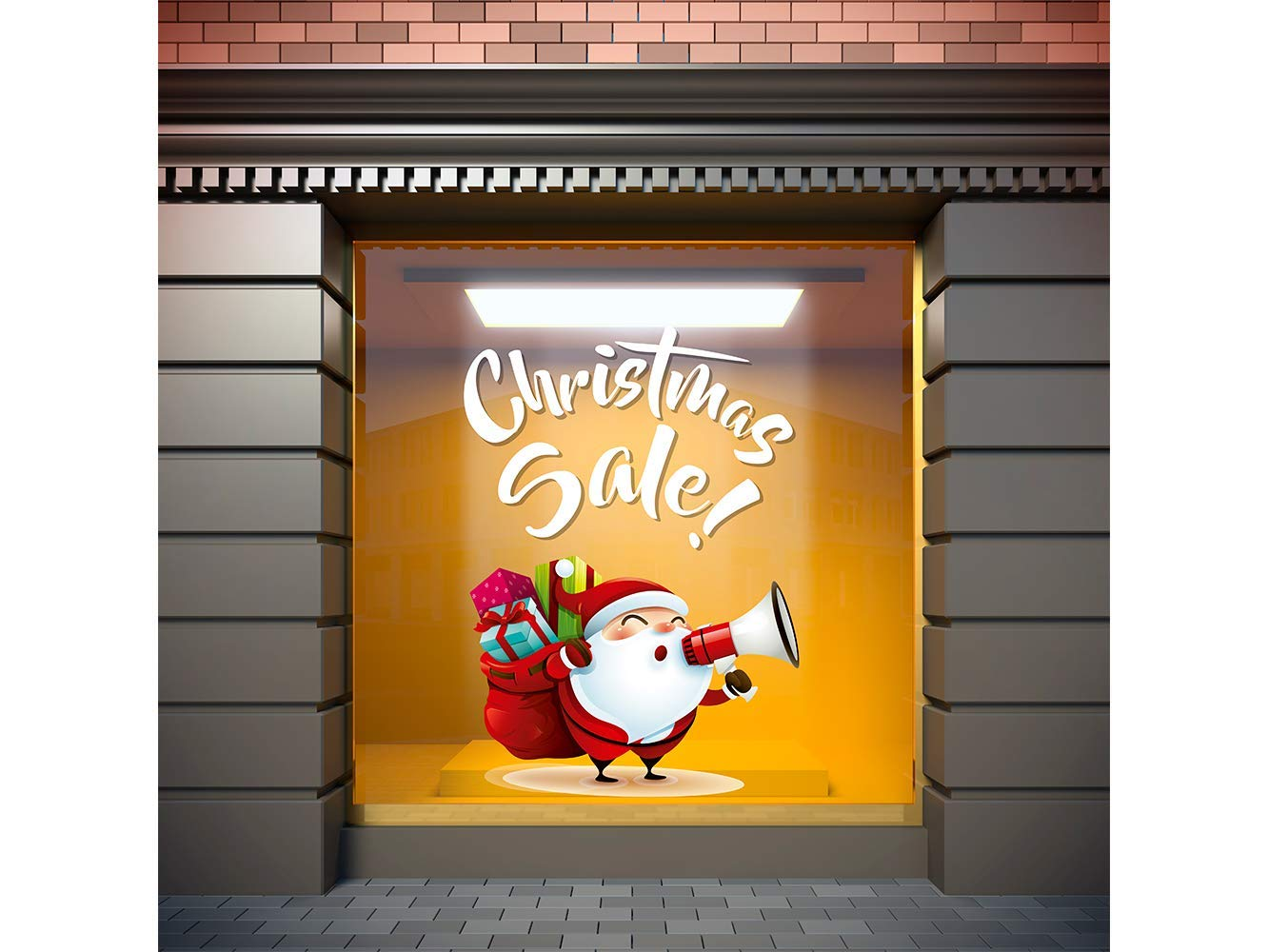 Vinilo Navidad Christmas Sale | Carteles XXL - Impresión carteleria publicitaria