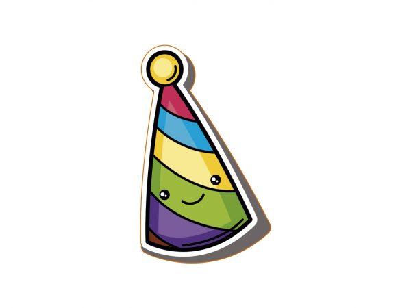 Vinilo Pegatina Gorro Cumpleaños Feliz | Carteles XXL - Impresión carteleria publicitaria
