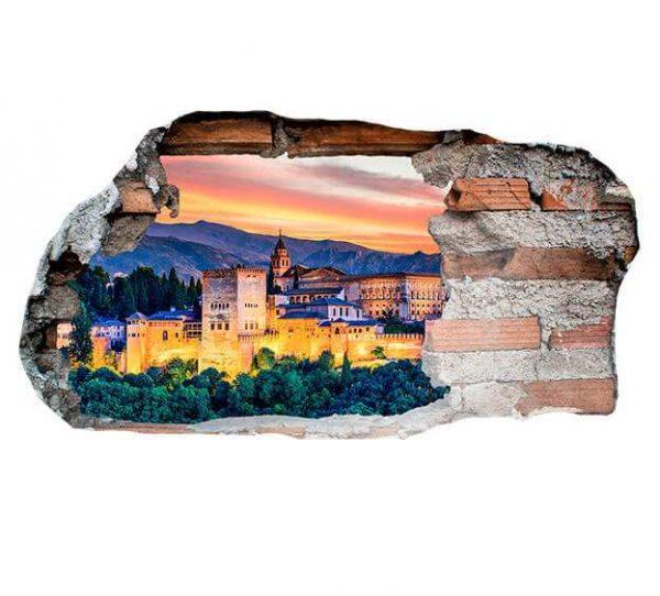 Vinilo 3D Alhambra | Carteles XXL - Impresión carteleria publicitaria