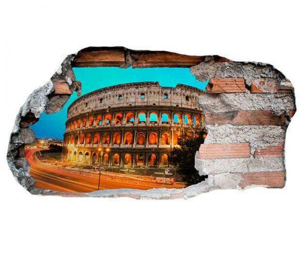 Vinilo 3D Coliseo Romano | Carteles XXL - Impresión carteleria publicitaria