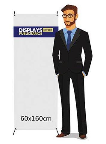 X Banner 60x160cm | Carteles XXL - Impresión carteleria publicitaria