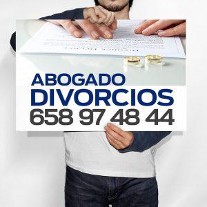 Cartel Abogados Divorcios