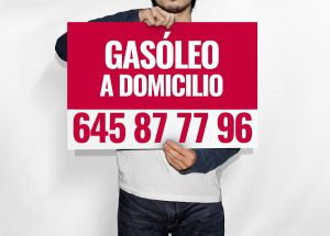 Cartel Gasoil a Domicilio