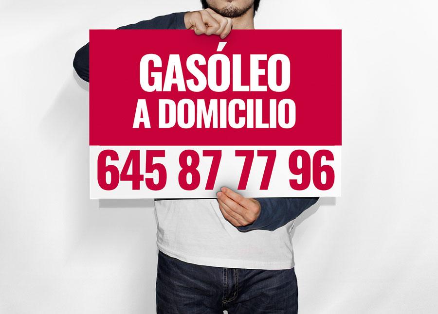 Cartel Gasóleo a Domicilio