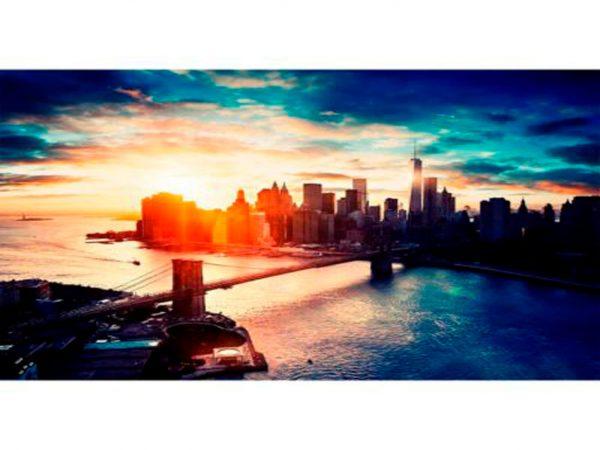 Fotomural Amanecer en Manhattan   Carteles XXL - Impresión carteleria publicitaria